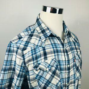 KAVU Mens Coastal Shirt Americana X-Small KAVU-Outdoors 569